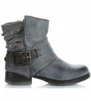 Dámské boty Crystal Shoes šedé