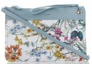 Kabelky Listonošky květinový vzor David Jones Světle Modrá