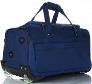 Snowball Velká Cestovní taška XL na kolečkách s teleskopickou rukojetí Tmavě modrá