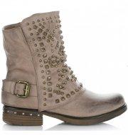 Dámské boty Crystal Shoes Khaki