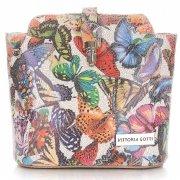Kabelka listonoška na každý den Vittoria Gotti Multicolor béžová