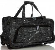 Velká Cestovní taška na kolečkách s teleskopickou rukojetí renomované firmy Madisson Multicolor - Černá