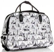 Cestovní taška na kolečkách s výsuvnou rukojetí Or&Mi Monument Šedá