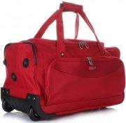 Velká Cestovní taška na kolečkách s teleskopickou rukojetí renomované firmy Madisson červená