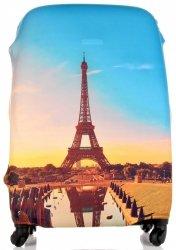Obal na kufr Snowball L size Paris Multicolor