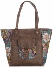 Univerzální Dámské kabelky David Jones Multicolor/Zemitá