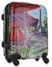 Palubní kufřík Or&Mi Paris 4 kolečka Multicolor