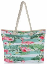 Plážová dámská kabelka Zelená