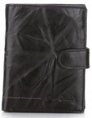 Pánská kožená peněženka Pierre Cardin černý