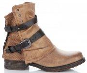 Lady Glory Dámské boty Zrzavé