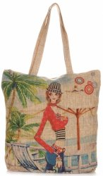 Torebka Damska Shopper Multikolor Summer