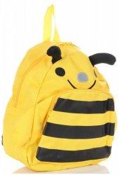 Plecaczki Dla Dzieci do Przedszkola firmy Madisson Pszczółka Multikolor - Żółty