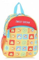Plecaczki Dla Dzieci do Przedszkola firmy Madisson Sweet Dream Multikolor - Żółty