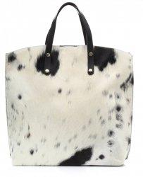 Kožená kabelka Shopperbag s kosmetickou kapsičkou