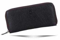 Dámská kožená peněženka Pierre Cardin Čokoládová