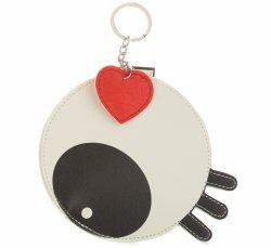 Přívěšek na klíče ke kabelce Oko Bílá černá