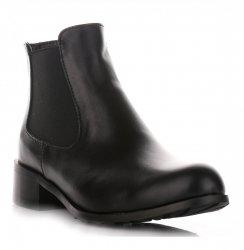 Klasické Kožené Dámské boty Alexio Giorgio černé