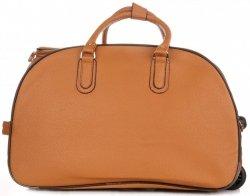 Cestovní taška na kolečkách s výsuvnou rukojetí Or&Mi hnědá