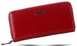 Klasická dámská kožená peněženka Lorenti červená