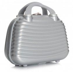 Kuferek na Podróż do ręki Or&Mi Srebrny