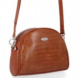 Štýlová dámska taška elegantná taška na posol v štýle aligátora David Jones Ryšavka