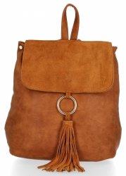 Značkové batohy pre ženy pre každý deŘ Roberto Ricci Suede pravá / umelá koža Rudy