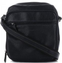 Pánske tašky na správy David Jones čierny