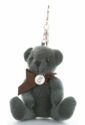 Kľúč taška elegantný medveď tmavo zelená