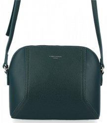 Firemná dámska taška univerzálna taška na posol David Jones Fľaša Zelená