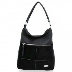 Conci Čierna príležitostná dámska taška