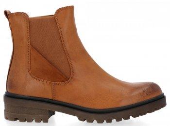 Zrzavé univerzální kotníkové boty Carla