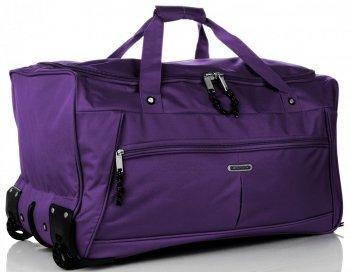 Cestovní taška na kolečkách s teleskopickou rukojetí renomované XL firmy Madisson fialová