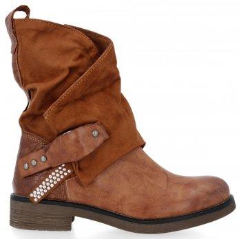 Zrzavé univerzální kotníkové boty Elise