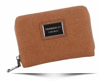 Klasická Dámská Peněženka Diana&Co Firenze hnědá