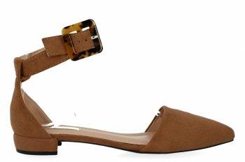 Camelové elegantní dámské sandály Bellucci