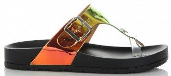 Módní Dámské Nazouváky Ideal Shoes Černé