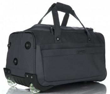 Snowball Cestovní taška na kolečkách s teleskopickou rukojetí šedá