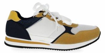 Tmavě modré módní dámské sportovní boty Bellucci