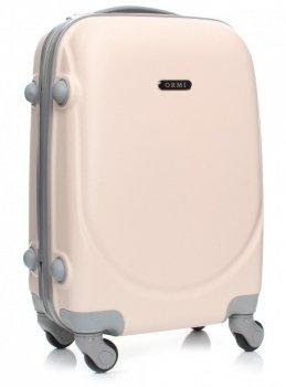 Palubní kufřík Ultra Light Or&Mi 4 kolečka béžová