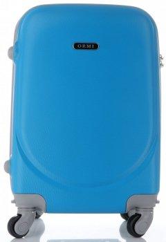 Palubní kufřík Ultra Light Or&Mi 4 kolečka modrý
