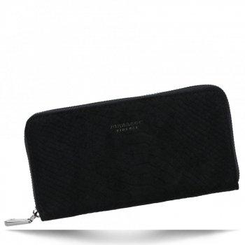 Elegantní Dámská Peněženka XL s motivem aligátora Diana&Co Černá