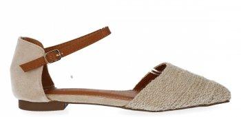 Béžové dámské sandály Bellucci