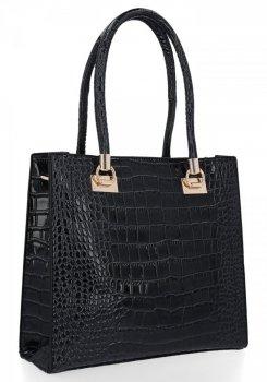 Klasická Dámská Kabelka Grace Bags Černá
