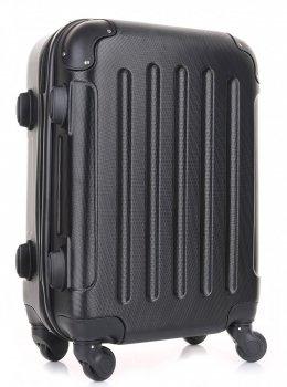Palubní kufřík italské firmy Or&Mi 4 kolečka Černá