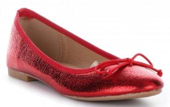 Dámské baleríny červené