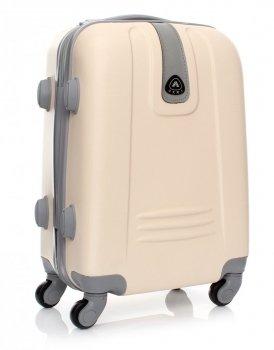 Palubní kufřík Or&Mi 4 kolečka béžová