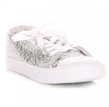 dámské sportovní boty stříbrné