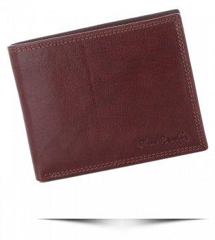 Pánská kožená peněženka Pierre Cardin Zrzavá