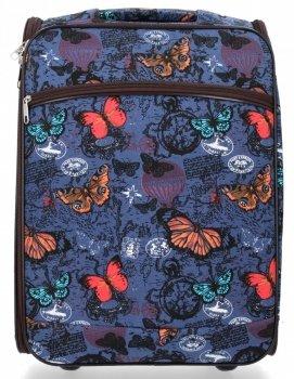 Módní Palubní Kufřík Butterfly značky Or&Mi Tmavě modrý