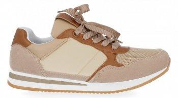 Khaki módní dámské sportovní boty Bellucci